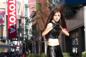 AX2011- Tifa - Fight by Shinigami-Mero-Chan