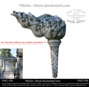Torch with flame by YBsilon-Stock by YBsilon-Stock