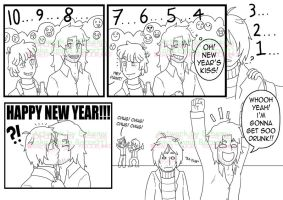 New Year Kiss Gone Wrong? by Ethemy
