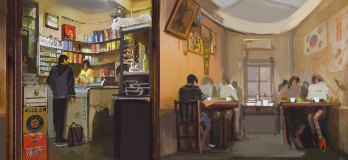 2012.8  greasy spoon by artbybin