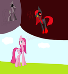 theer part of  pinkemena fanart for mr Dragonboy96 by ladynasweet