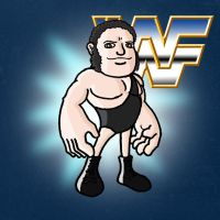 Andre The Giant by ZappaZee