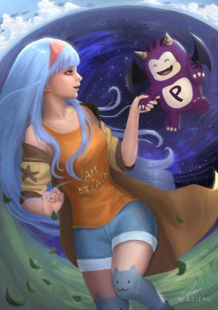 The beautiful world of happiness by Zienu