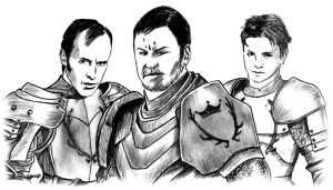 Young Baratheons by ZacharyFeore