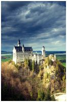 Neuschwanstein castle by absolon