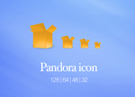 Pandora replacement icon by ButteryFrog