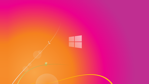 Windows 8 Sunset Wallpaper by gifteddeviant
