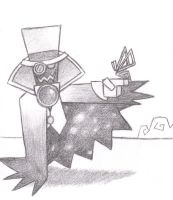 Count Bleck with Tippi by Kawaii-Chocobo