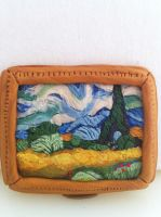 Miniature Van Gogh in Sculpey by pancakesandhalibut