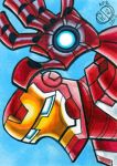 Iron Man Sketchcard by Chad73
