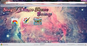 Google Chrome Theme: Galaxy by Cursorsandmore