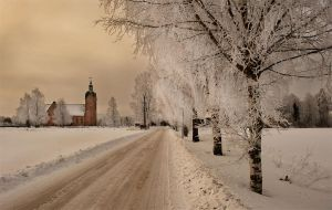 Norweigen church by TonyD3