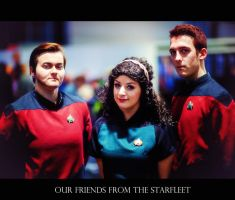 Our friends from the Starfleet by calimer00