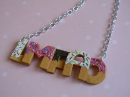 LMFAO Cookie Necklace by ThePetiteShop