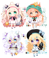 .:CLOSED:. Pillopuff batch #9 #10 #11 n #12 by chisei-adopts