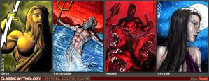 Greek Classic Mythology Sketch Cards