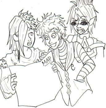 Band - Uncolored by VivianColfax