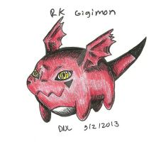 RK Gigimon by Miss-DNL