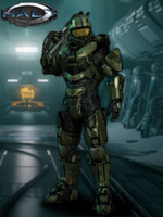 Master Chief Model - Halo 4 by LoneCarbineer