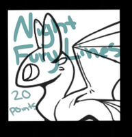 Night Fury Lines by DaPuddingz