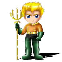 Aquaman Chibi by ExoroDesigns