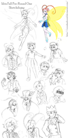 IdrisFall - Pre-Round One SketchDump by Overshadowed