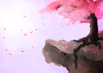 Cherry Blossoms by MahUsername