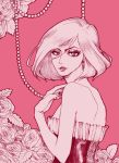 Woman in Pink by JumpinFREAK
