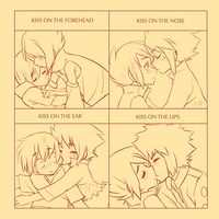Kiss meme oAo by Kiwibon