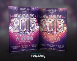 New Year Eve Party Flyer by imagingdc