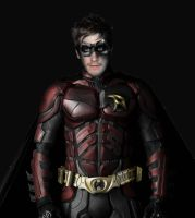 jake gyllenhaal as robin by megamike75