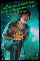 Oliver Sykes Chelsea Smile Edit by Animelovinggirl14