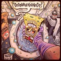 Toilet-SpongeBob  Squarepants by MisterBZD
