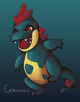 croconaw by foxxtrot