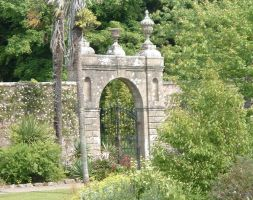 Culzean Castle garden gate by teh-dino