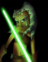 Snips aka Ahsoka Tano color by culdesackidz