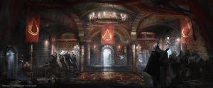 Assassin's Creed Brotherhood Hideout by Donglu