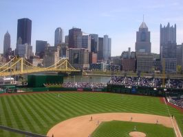 pittsburgh from pnc park by tishman