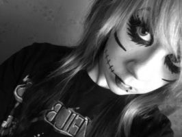 Andy Biersack Make Up by Kaspiian