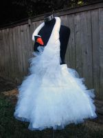 Bjork Swan Dress Replica by laurabububun