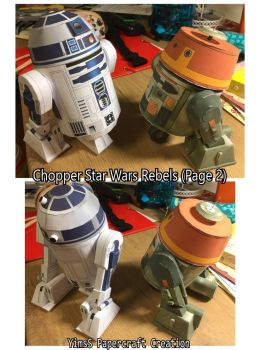 Chopper Star Wars Rebels (and R2D2) (Page 2) by Goddess-YimsSArts