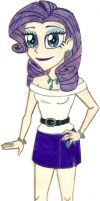 MLP - Human!Rarity by Jackie-Chaos-Wolf