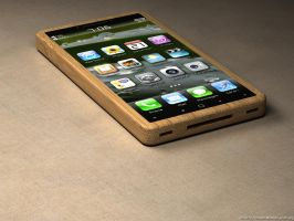 iPhone bamboo 4 by eco6org
