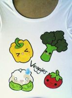 Veggies T-Shirt by giulal