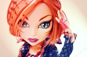 Monster High- Toralei IV by Shippuu444