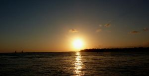 Sunset at Mallory Square by go4music