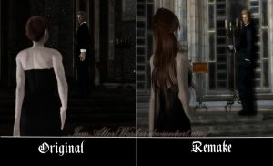 A light in the dark~Before and After by IamAlbertWesker