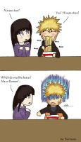 Naruto's Choice XD by rurimaru