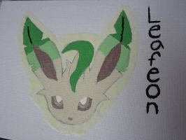 Leafeon Painting by Scott04069418