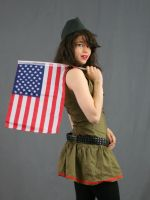 Army Pinup 4 by MajesticStock